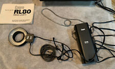 Vintage Capro RL80 Ring Light with case 120-240V or Battery Tested and Works