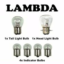 Bulb Set 6v ( Indicator Head Light Tail Light )  for Honda CT110 Postie Bikes