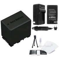 BN-VG138 Battery + Charger for JVC Everio Camcorders