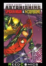 ASTONISHING SPIDER-MAN AND WOLVERINE GRAPHIC NOVEL Collects 6 Part Series + more