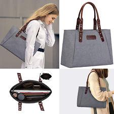 Women Large Handbag Lightweight Tote Shoulder Messenger Shopping Work Zipper Bag