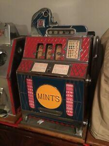 Antique FOK MILLS nickel vender slot machine