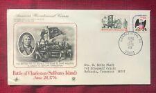 JOHN'S DEALS - US - 1976 BATTLE OF CHARLESTON 1776 - ARTCRAFT US BICENTENNIAL