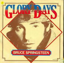 BRUCE SPRINGSTEEN 45 TOURS HOLLANDE GLORY DAYS+