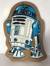 Star Wars R2-D2 Hangable Corkboard 1980 Vintage