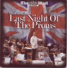 MUSIC FROM THE LAST NIGHT OF THE PROMS - PROMO CD / ELGAR ARNE WALTON HOLST ETC