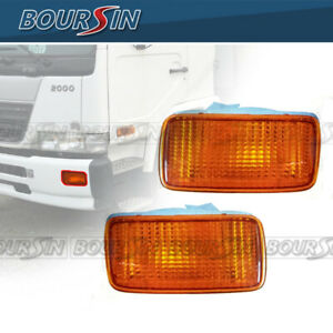 Bumper Side Lamp For Nissan UD 1800 2000 2300 2600 3300 Signal Light 95-10 L+R