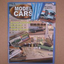 Model Cars Magazine Dave Cummins' Bugatti Mike Szirmay's GT 40 December 2004