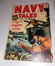 Navy Tales #3 Atlas comics 1957 Severin cover, Gene Colan art Golden Age War key