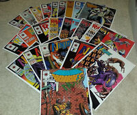 (23) Mixed Valiant Comics Comic Book Lot Rai Ninjak Secret Weapons Armorines
