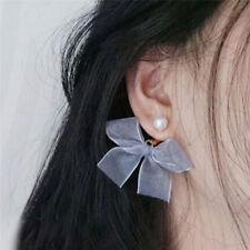 Bow Tie Dangle Earrings Ear Stud Earrings Women Jewelry Gift Wedding Earrings ..