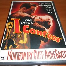 I Confess (DVD, Full Frame 2004) Montgomery Clift, Alfred Hitchcock Used