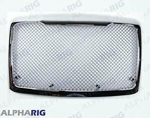 Freightliner Cascadia Grill Mesh WITH BUGSCREEN Chrome Mesh Upgraded