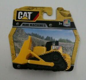 Toy State CAT Caterpillar Mini Machines Bulldozer Contruction Toy NEW