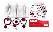 KnitPro Nova Metall Chunky-Set Nadelset, Stricknadeln,  10603