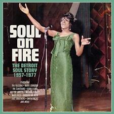 Soul On Fire - The Detroit Soul Story: 1957-1977 - Various (NEW 3CD)