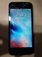 Apple iPhone  5s A1533 gray, verizon LOCKED, NEEDS GLASS