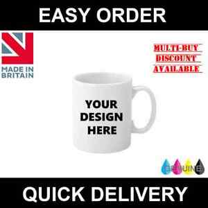 Personalised Custom Printed Mug (Design & Print Your Own Cup) 11oz Mug/Cup