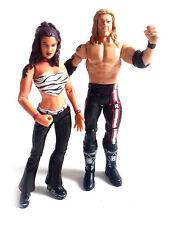 WWE WRESTLING CLASSIC Team Edge & Lita DIVA TAG TEAM Figure Giocattolo
