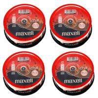 GENUINE MAXELL CD-R 80 MINS XL-II DIGITAL AUDIO RECORDABLE BLANK DISCS 100 PACK