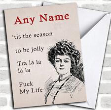 Funny Fml Christmas Customised Card