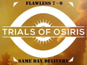 Trials of Osiris FLAWLESS GUARANTEED PS4 / PS5