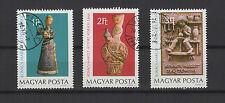poteries de Margit Kovacs Hongrie 1978 une série de 3 timbres / T1646