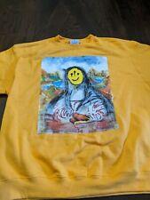 Westside Gunn Yellow Champion Sweater Mona Lisa XXL GXFR