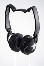 mix-style nekomimi headphones Star Cosplay Costume Cat Ear Black White F/S