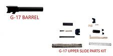 Glock 17 9mm Barrel + Upper Parts Slide Completion Kit Gen3 USA Made PF940V2 P80
