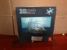 Trefl 1000 Piece 3D Puzzle - boat - With Visual Echo Technology