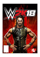 WWE 2K18 PS4 (Sony PlayStation 4, 2017) W2k18 Game Brand New Free Shipping
