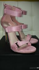 Fashion Nova Buckle Babe Heel Blush Size 9