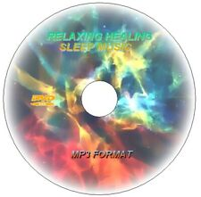 SLEEP MUSIC AID Ambient Ethereal Healing Spa Meditation RELAX MP3 DVD