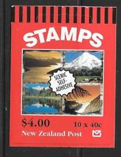 NEW ZEALAND SGSB89 1998  BOOKLET WITH MOTOR GUIDE ADVERTISEMENT  MNH