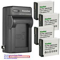 Kastar Battery AC Wall Charger for DMW-BLG10 BLG10E & Panasonic Lumix DMC-ZS100