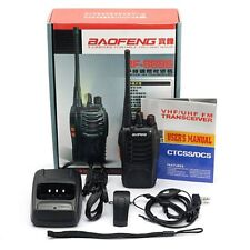 BaoFeng BF-888S UHF 400-470 MHz Walkie Talkie 16 Channels 2-Way Ham Radio