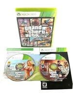 Grand Theft Auto V - (Microsoft Xbox 360, 2013) Complete w/ Manual, Map *TESTED*