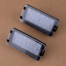 Fits Seat Leon Mk1 (1M) 2001-2004 Pair 2-Pin LED Number License Plate Light