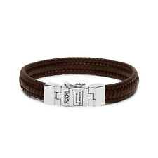 Buddha to Buddha EDWIN S LEDER BRAUN 925 Handarbeit Bracelet - F