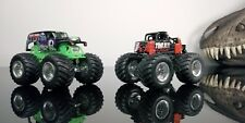 HOT WHEELS MONSTER JAM Time Flies 4X4 DIE CAST MONSTER TRUCK Lot 1/64 SCALE