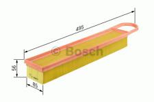 Air Filter-Bosch F 026 400 050