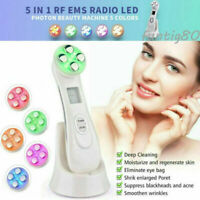 Face Lifting Fractional RF EMS Anti Aging LED Photon Therapy Beauty Care Device