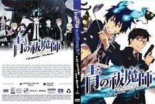 ANIME DVD Blue Exorcist Vol.1-25 End + Movie ENGLISH DUBBED + FREE ANIME