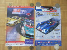 2005 & 2006 SPA European Racing Event Poster Lot of 2 Corvette Maserati +