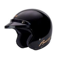 Arai Freeway Open Face Motorcycle Motorbike Crash Helmet With Peak Black Large