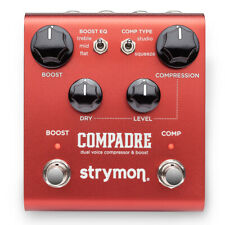 Strymon Compadre Dual Voice Compressor + Boost Effects Pedal