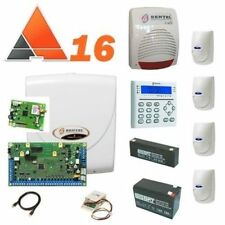 BENTEL KIT ANTIFURTO ALLARME CASA ABSOLUTA 8/16 ZONE COMPLETOABS16+GSM+4SENSORI
