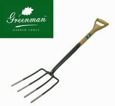Half Brite Digging Fork High Quality Greenman Filled YD Handle