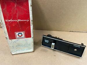 Delco Remy 1994196 Windshield Wiper Switch Genuine OEM GM